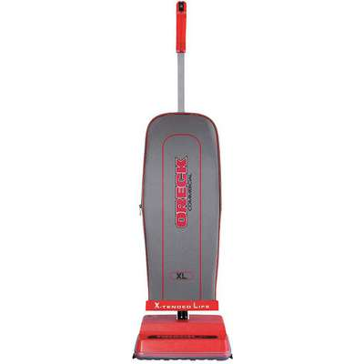 "2-1/4 gal. Capacity Bagged Upright Vacuum with 12"" Cleaning Path, 108 cfm, Standard Filter Type, 4 A"