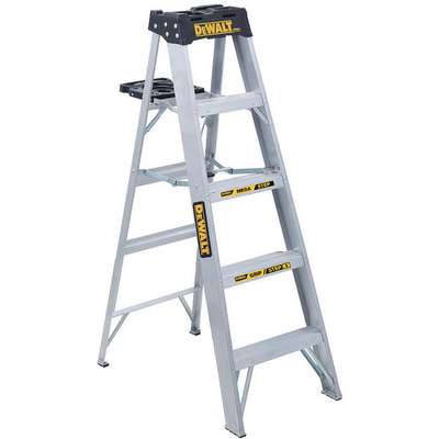 5 ft. 300 lb. Load Capacity Aluminum Stepladder
