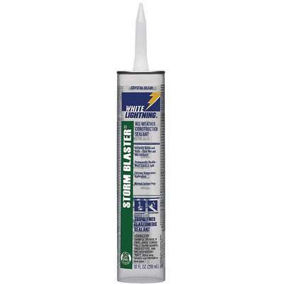 Clear Construction Sealant, Hybrid, 10.0 oz. Cartridge