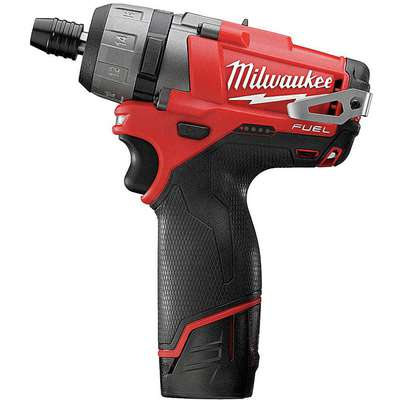"Milwaukee 2402-22 M12 Fuel 1/4"" Cordless Screwdriver Kit, 12.0V"