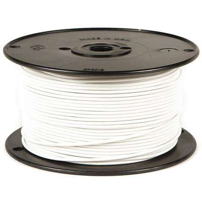 500 ft. GPT, PVC Primary Wire with 1 Conductor(s), 16 AWG Wire Size, 60V Max. Voltage; White
