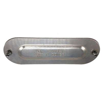 "Conduit Body Cover, 1"" Hub Size"