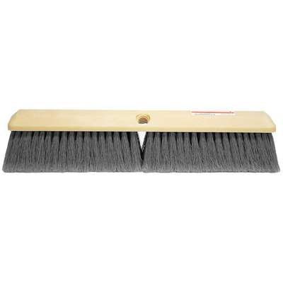 "Synthetic Push Broom, 14"" Sweep Face"