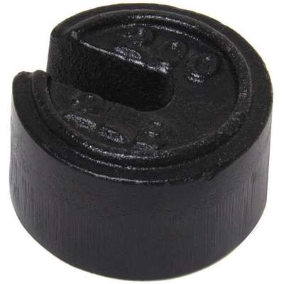 200 x 2 lb. Calibration Weight, Slotted Style, Class 7, No Certficate, Cast Iron