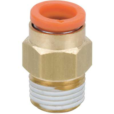 "1/4"" Brass Male Adapter, Brass"