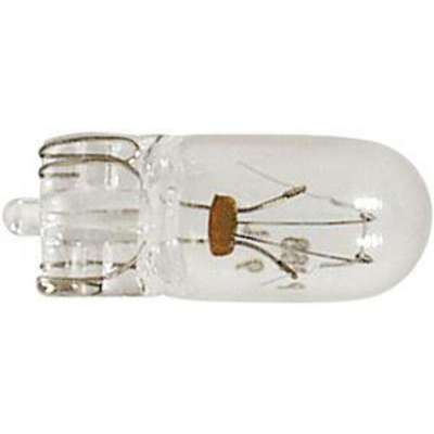 Glass Wedge Mini Bulb, Trade Number 168, T3-1/4, Clear, 14 V