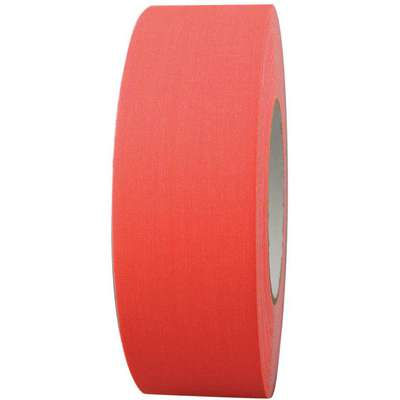 Industrial Gaffer's Tape, 48mm X 45m, 11.50 mil Thick, Orange Coated Cloth, 1 EA