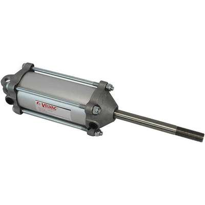 "2-1/2"" Air Cylinder Bore Dia. with 4"" Stroke Aluminum , Clevis Mounted Air Cylinder"