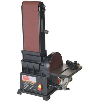Disc Sander, Cast Iron Table, 3/4 HP
