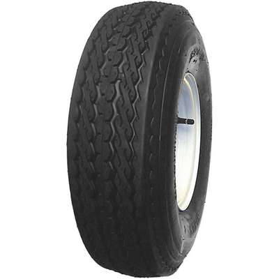 Trailer Tire,8X3.75 5-4.5,6 Ply