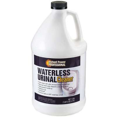Waterless Urinal Cleaner, 1 gal. Jug, Unscented Liquid, Ready To Use, 1 EA