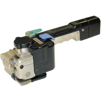 "Pneumatic Combination Tool, For Strapping Width: 3/8"" to 1/2"", Tension Capacity: 180 lb."