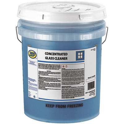 Glass Cleaner, 5 gal. Pail, Rose Liquid, 4:1 to 30:1, 1 EA