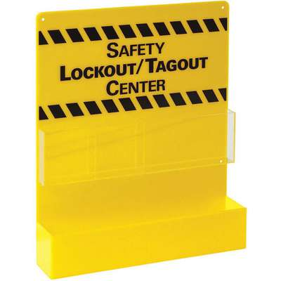 "Lockout/Tagout Center, Unfilled, 17"" x 14"""