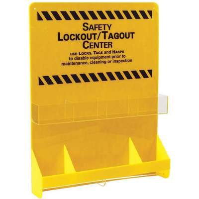 "Lockout/Tagout Center, Unfilled, 29"" x 23-7/8"""