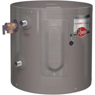Residential Mini Tank Water Heater, 6.0 gal. Tank Capacity, 120V, 2000 Total Watts