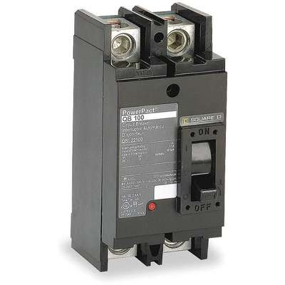 Circuit Breaker, 250 Amps, Number of Poles: 2, 240VAC AC Voltage Rating