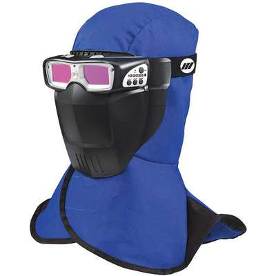 "Fixed Front Welding Goggles, ADF Filter, 3-1/2"" Viewing Area"