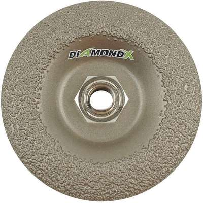"Type 29 DiamondGrinding Wheel, 4-1/2"", 5/8""-11 Arbor Hole Size, 1/4"" Thickness, 13,600 Max. RPM"