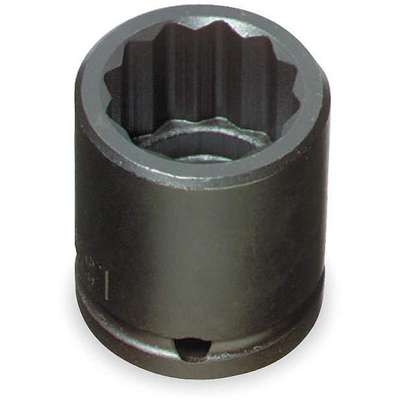 Impact Socket,1/2 Dr,5/8 In,12