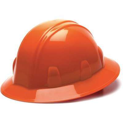 Full Brim Hard Hat, Type 1, Class E ANSI Classification, SL, Ratchet (4-Point)