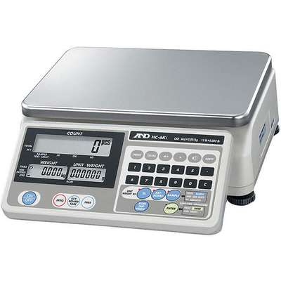 6 lb. Digital LCD Compact Bench Scale