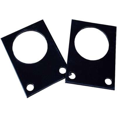Foot Locator Plate,6 in. L x 6 in. W,PK2