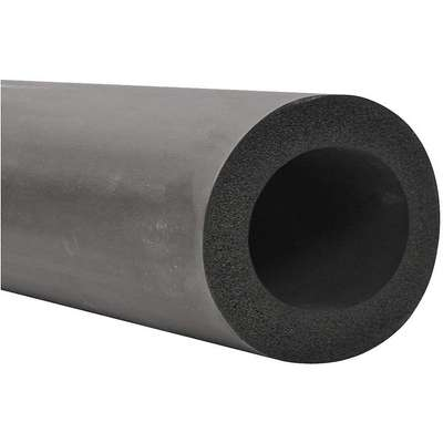 "1"" Thick, Flexible EPDM Pipe Insulation, 6 ft. Insulation Length"