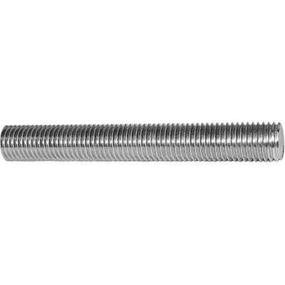 M12-1.25 x 1 m Zinc Plated Steel Threaded Rod 2 Pieces