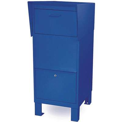 Courier Box, Blue