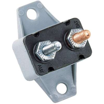 CBP-BA Series Automotive Circuit Breaker, Plug In Mounting, 25 Amps, 10-32 Stud Terminal Connection