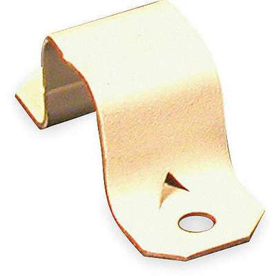 Steel Mounting Strap For Use With 700 Raceway, Ivory