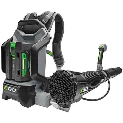 Li-Ion Battery Backpack Blower, 600 cfm, 145 mph Max. Air Speed (Battery Included)