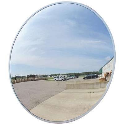Outdoor Convex Mirror; 36 in. dia., 36 ft. Approx. Viewing Distance