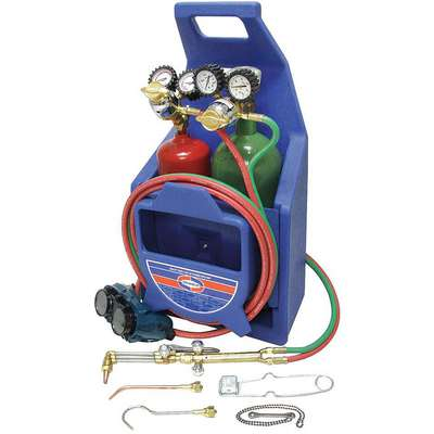 Welding and Cutting Kit, CA550, RO/RMC2, Acetylene Fuel, 71 Torch Handle