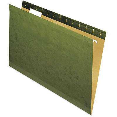Hanging File Folders, 1/5 Cut, Legal, PK25