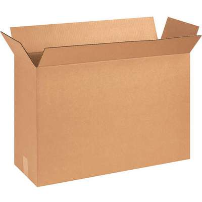 "Shipping Carton, Kraft, Inside Width 8-3/8"", Inside Length 25-1/8"", Inside Depth 17-1/2"", 65 lb."