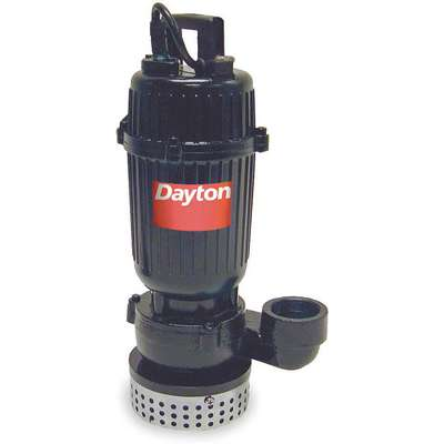 1/3 HP Submersible Sump Pump, No Switch Included Switch Type, Cast Iron Base Material