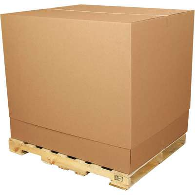 "Shipping Carton, Kraft, Inside Width 36-1/2"", Inside Length 36-1/2"", Inside Depth 40"", 65 lb., 1 EA"