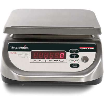 3000g/6 lb. Digital LED Compact Bench Scale