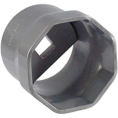 "3-3/8"" Steel Locknut Socket with 3/4"" Drive Size and Natural Finish"