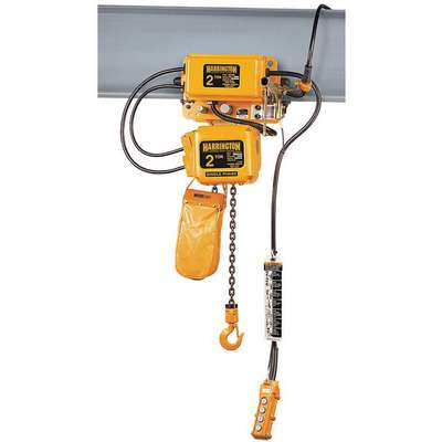 H4 Electric Chain Hoist, 6000 lb. Load Capacity, 115/230V, 20 ft. Hoist Lift, 3.5 fpm