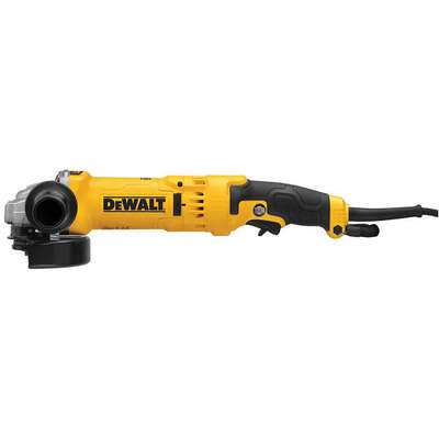 "Angle Grinder, 4-1/2"" or 5"" Wheel Dia., 13 Amps, 120VAC, 11,000 No Load RPM, Trigger Switch"