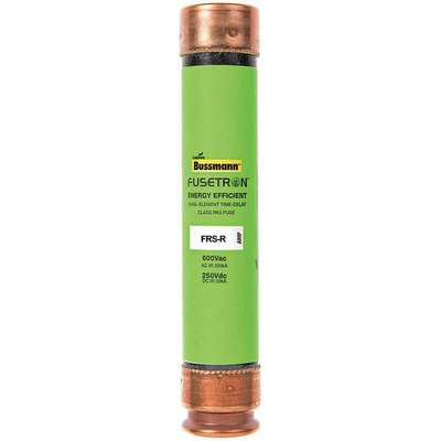 6A Time Delay Fiberglass Fuse with 600VAC/300VDC Voltage Rating; FRS-R Series