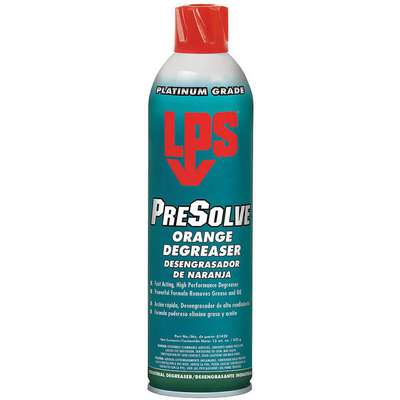 Degreaser, 15 oz. Aerosol Can, Solvent Liquid, Ready to Use, 1 EA