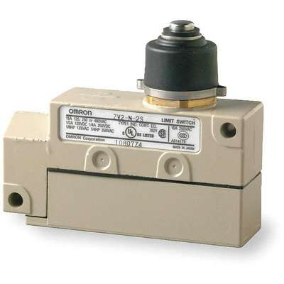 Plunger General Purpose Limit Switch; Location: Top, Contact Form: SPDT, Top Movement