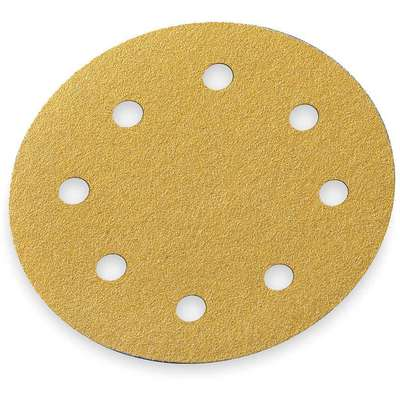 "5"" Coated Hook-and-Loop Sanding Disc, 60 Abrasive Grit, Coarse Grade, Aluminum Oxide"