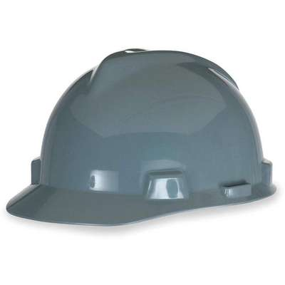 Front Brim Hard Hat, Type 1, Class E ANSI Classification, V-Gard, Ratchet (4-Point)