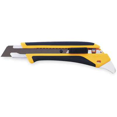 "18mm Snap-Off Utility Knife,7"" Overall Length,Number of Blades Included: 1"