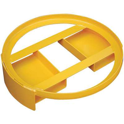 Drum Dolly,Yellow,24-1/8 in. dia,1500 lb